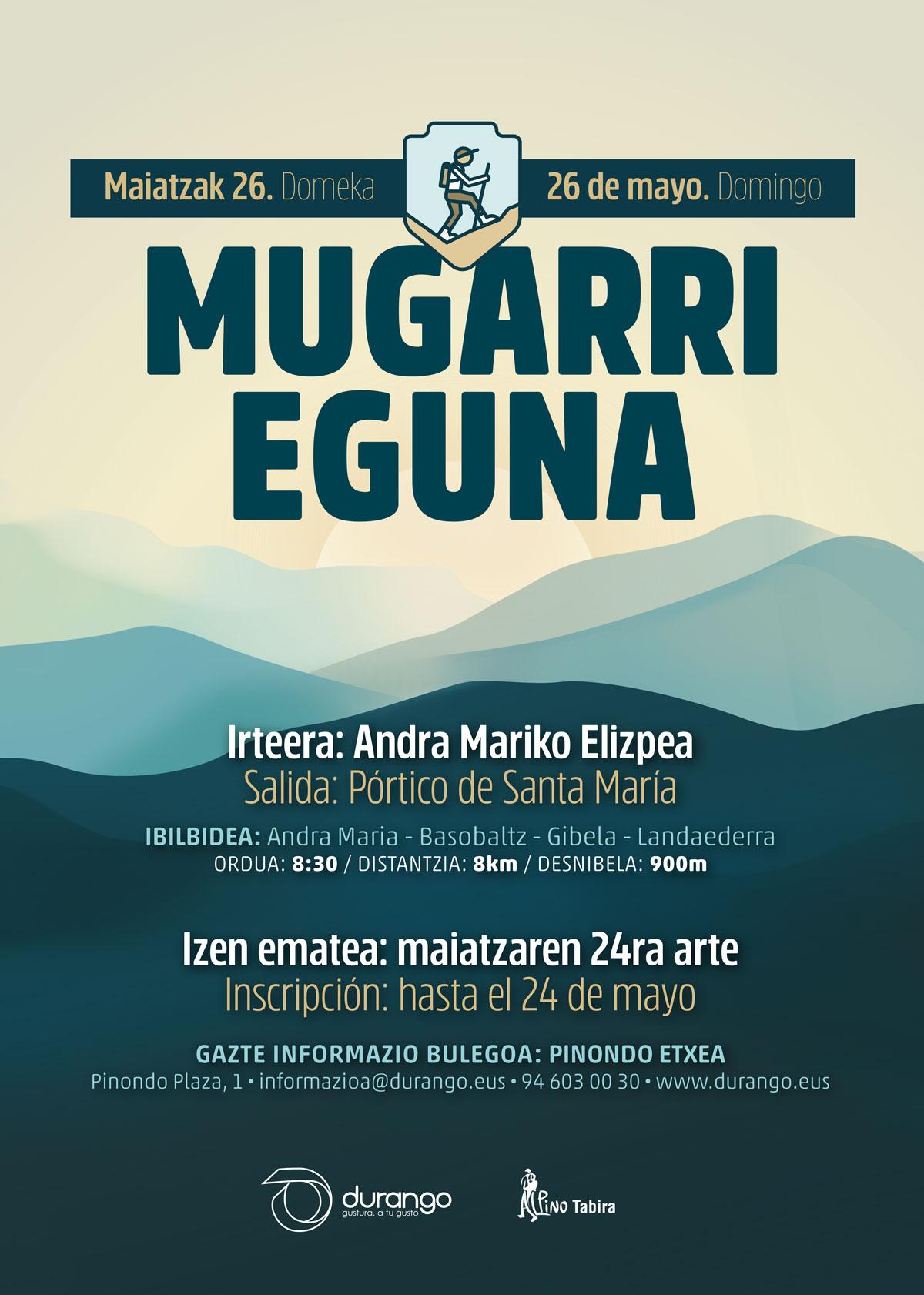 MUGARRI EGUNA 2019