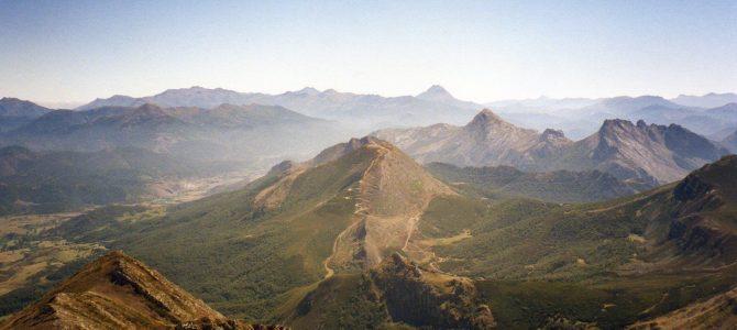 Mampodre. Peña la Cruz. Pico Polinosa. Peña del Convento.