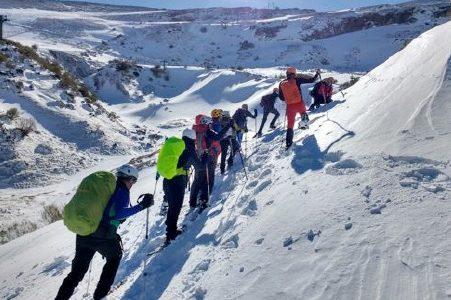 Cursillo media montaña invernal / Mendi ertaina neguan ikastaroa